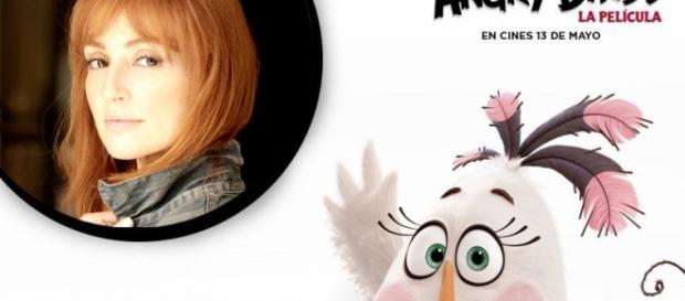 Cristina Castaño dará voz a Matilda en la pelicula de Angry Birds