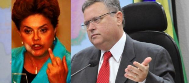 Dilma Rousseff é trocada por Senador