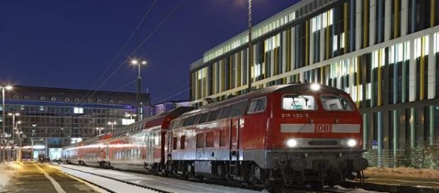 Estación de trenes de Múnich. Flickr