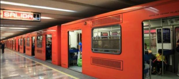 Metro Ciudad de México. Fotografía de redes sociales.