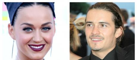 Katy Perry and Orlando Bloom (Wikipedia)