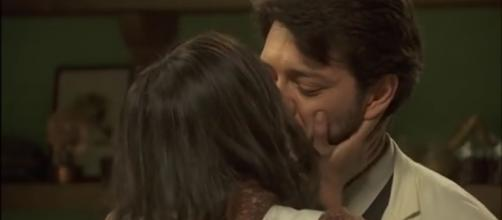 Il Segreto: il bacio di Lucas e Aurora