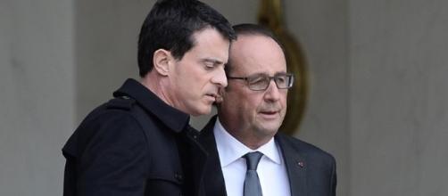 President Hollande et Manuel Valls