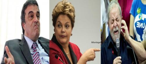 Presidente exonerou quase todos os ministros, inclusive Lula, que estava suspenso