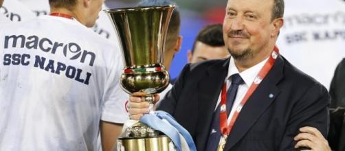 Rafa Benitez vince la Coppa Italia.