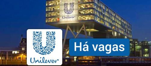 Vagas abertas na Unilever. Foto: Reprodução Unilever.