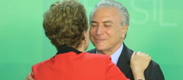 Dilma Rousseff e Michel Temer - Imagem/Google