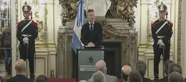 El,presidente Macri reunion con empresarios C5N
