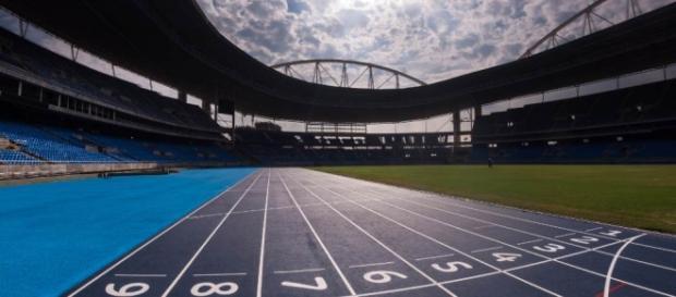 Estádio Olímpico do Rio ganhou nova pista de atletismo