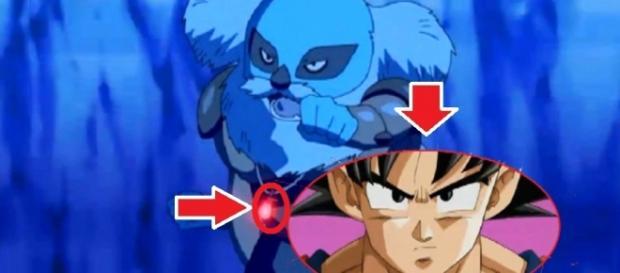 Goku parece estar en el mundo de kaio-sama