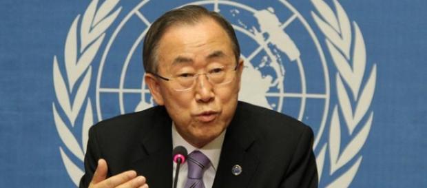 L'attuale segretario generale delle Nazioni Unite Ban-ki-Moon.