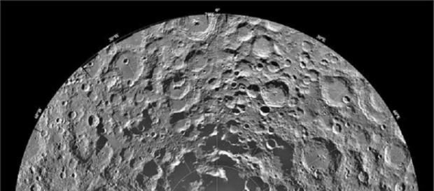 The South Pole of the Moon (NASA)