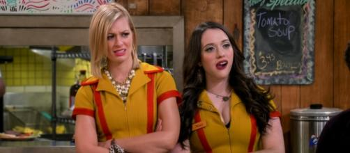 '2 Broke Girls' - 'And the Big Gamble' screen cap via CBS