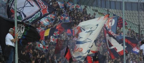 I tifosi del Crotone a Modena.