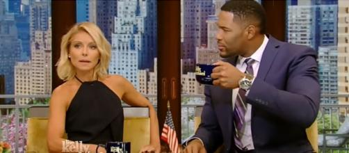 Michael Strahan and Kelly Ripa: Photo from YouTube