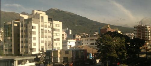 Vista de la ciudad de Quito, Ecuador