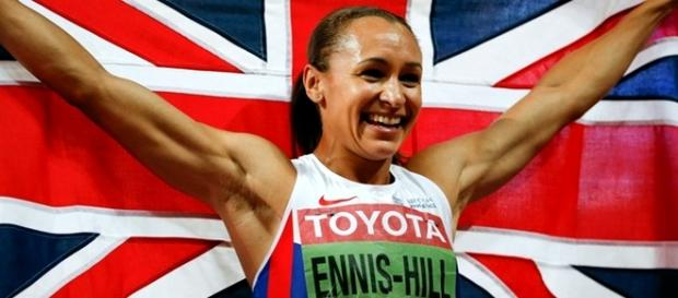 A atleta britânica Jessica Ennis-Hill