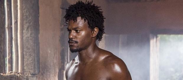 Ator vive um escravo sexual na trama da Globo