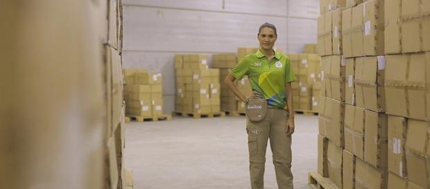Cores são inspiradas no espirro de alegria do Rio de Janeiro