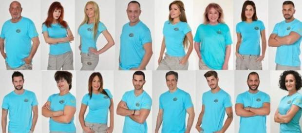 Los concursantes de Supervivientes 2016