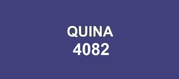 Quina 4082; Sorteio realizado quinta-feira, dia 12.