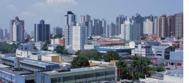 Região do Grande ABC Paulista, um dos maiores polos industriais do Estado