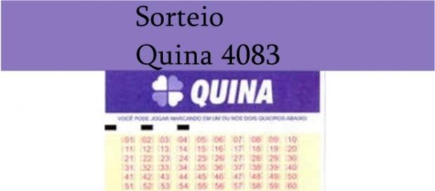 Sorteio da Quina 4083 acontece nesta sexta-feira