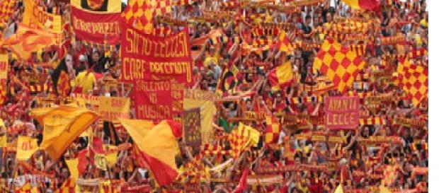 Spettatori in aumento per Lecce- Bassano di Lega Pro.
