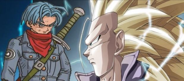 Trunks del futuro Super saiyajin fase 3