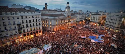15M, Mayo del 2011, Puerta del Sol.