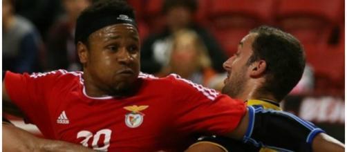 Benfica e ABC de Braga disputando a final