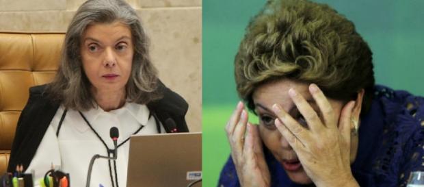 Carmem Lúcia pode julgar Dilma