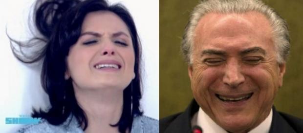 Mônica Iozzi não aceita governo Temer