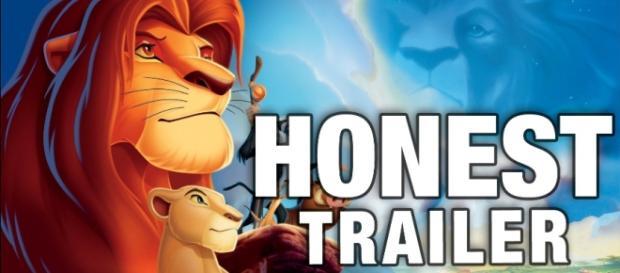 Screenshot of Lion King Honest Trailer (YouTube)