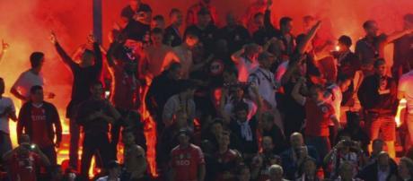 Adeptos festejaram novo título do Benfica