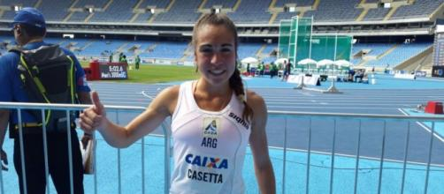 Casetta aprobó la prueba de 3.000 metros con obstáculos