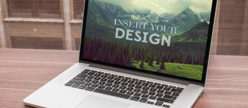 Ejemplo de plantilla Mockup para Adobe Photoshop (PSD)