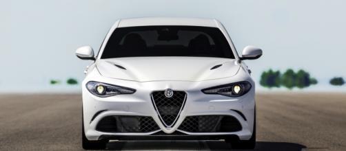 """La """"muscolosa"""" Alfa Romeo Giulia."""