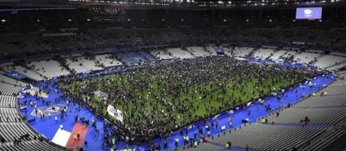 Lo 'Stade de France' la sera degli attentati di Parigi dello scorso novembre