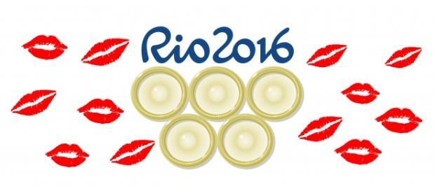 Atletas contarão com 450 mil preservativos distribuídos gratuitamente