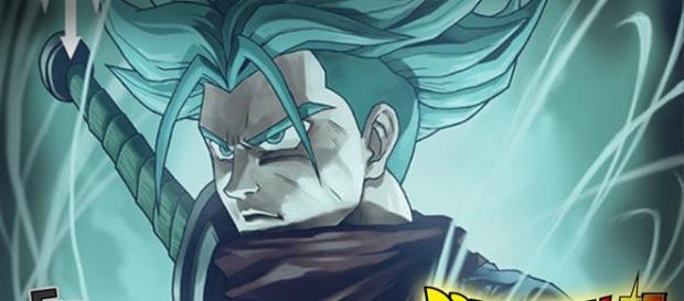 Dragon Ball Super - Trunks SSJ Dios Azul