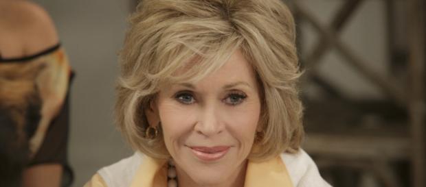 Jane Fonda plays Grace in the Netflix original series/Photo via Netflix.