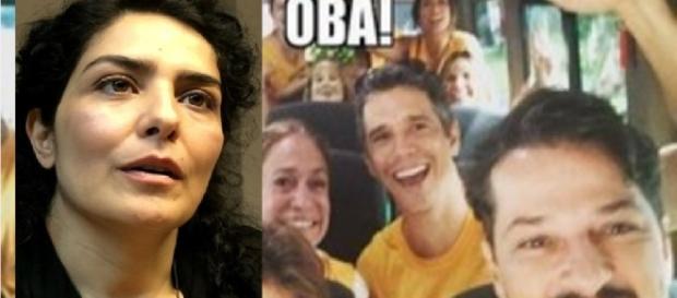 Sabatella defende Serrado - Foto/Montagem