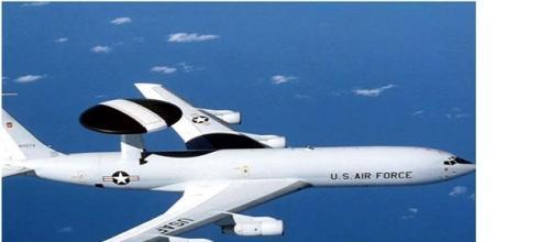 Avión de espionaje Tipo Boeing 707 E-3 Sentry