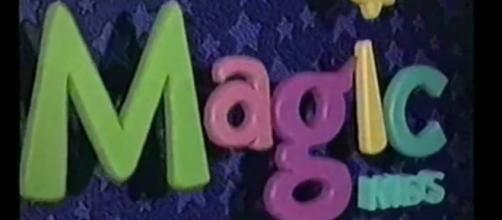 Colorido logo del mítico canal Magic Kid's