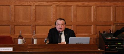 El premio Nobel, Luc Montagnier, en San Sebastián