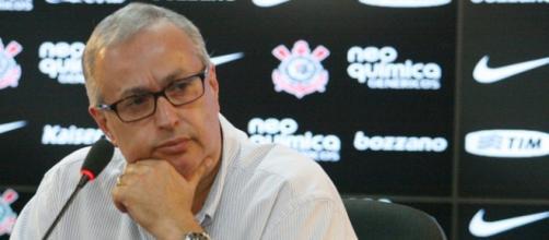 Roberto de Andrade, presidente do Sport Club Corinthians Paulista