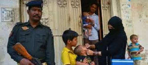Vacunacion de la polio en Pakistan