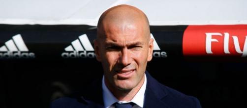 Zinedine Zidane entrenador del Madrid