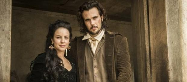 Joaquina salva Xavier e descobre que ele é um revolucionário (Gshow)